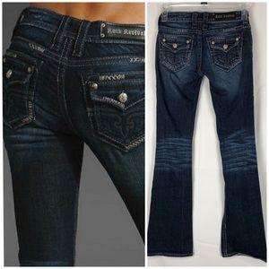 Rock Revival Holly Boot Cut Flap Pocket Size 24
